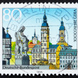 Postage stamp Germany 1973 Province of Gera - Stock Photo