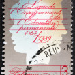 Stock Photo: Postage stamp Belgium 1989 Education League