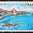 Stock Photo: Postage stamp France 1976 Biarritz, Bay of Biscay, France