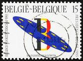 Postage stamp Belgium 1993 Belgian Presidency of EC Council — Stock Photo