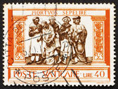 Postage stamp Vatican 1960 Burying the Dead — Stock Photo