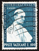 Postage stamp Vatican 1964 Pope Paul VI — Stock Photo