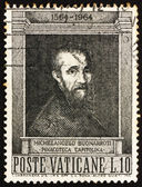 Postage stamp Vatican 1964 Michelangelo Buonarroti — Stock Photo