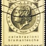 Постер, плакат: Postage stamp Vatican 1972 Bramante Donato d'Agnolo Architect