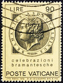 Postage stamp Vatican 1972 Bramante, Donato d'Agnolo, Architect — Stock Photo