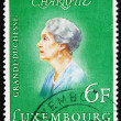 Postage stamp Luxembourg 1976 Charlotte, Grand Duchess of Luxemb — Stock Photo