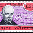 Postage stamp Vatic1972 Luigi Orione, Founder of CARITAS — Stock Photo #9854273