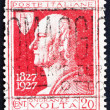 Stock Photo: Postage stamp Italy 1927 Count Alessandro Volta, Physicist