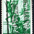 Stock Photo: Postage stamp Italy 1934 Alpine Infantry