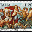 Postage stamp Italy 1970 The Triumph of Galatea, Fresco by Rapha — Stock Photo #9995044