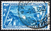 Postage stamp Italy 1932 Italian Flag, Map and Points of Compass — Stockfoto