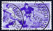 Postage stamp Italy 1934 Soccer Players — Stock Photo