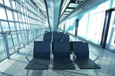 In airport — Stock Photo