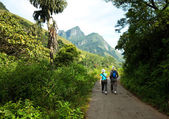 Hike on Sri Lanka — Stock Photo