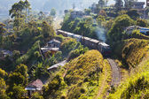 Railroad on Sri Lanka — Stock Photo
