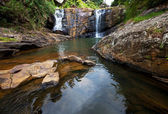 Waterfall on Sri Lanka — Foto Stock