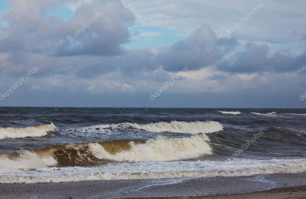 Sea storm — Stock Photo #10467692