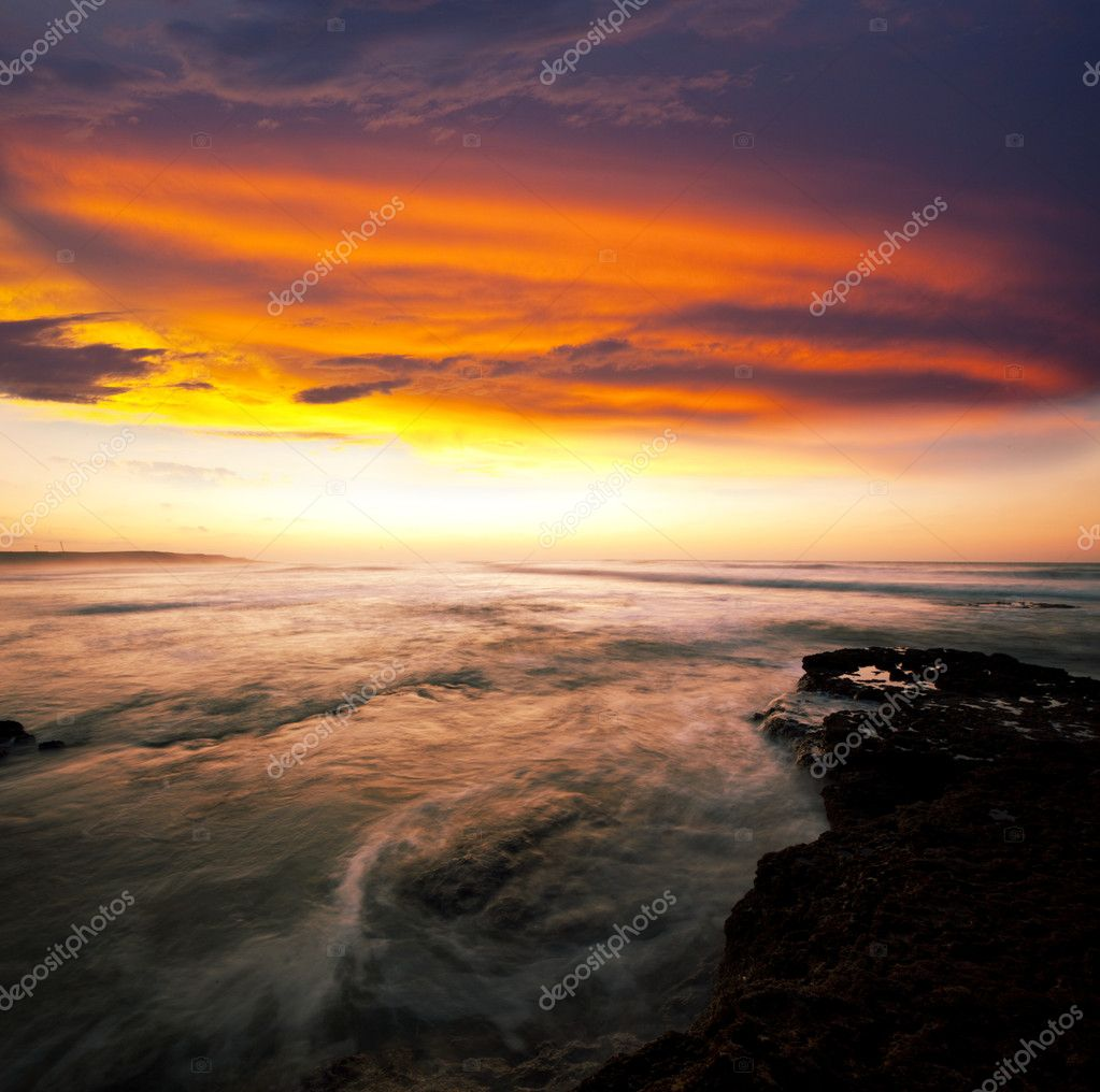 Sea sunset — Stock Photo #10467694