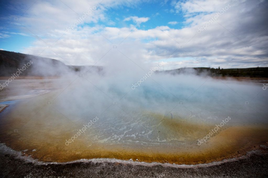 Yellowstone Park — Stock Photo #10467830