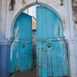 Moroccan door — Stock Photo