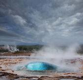 Geyser in Iceland — Stock Photo
