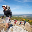 Hike in Crimea — Stock Photo