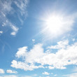 Sunny sky — Stock Photo