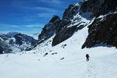 Hike in Himalaya — Stock Photo