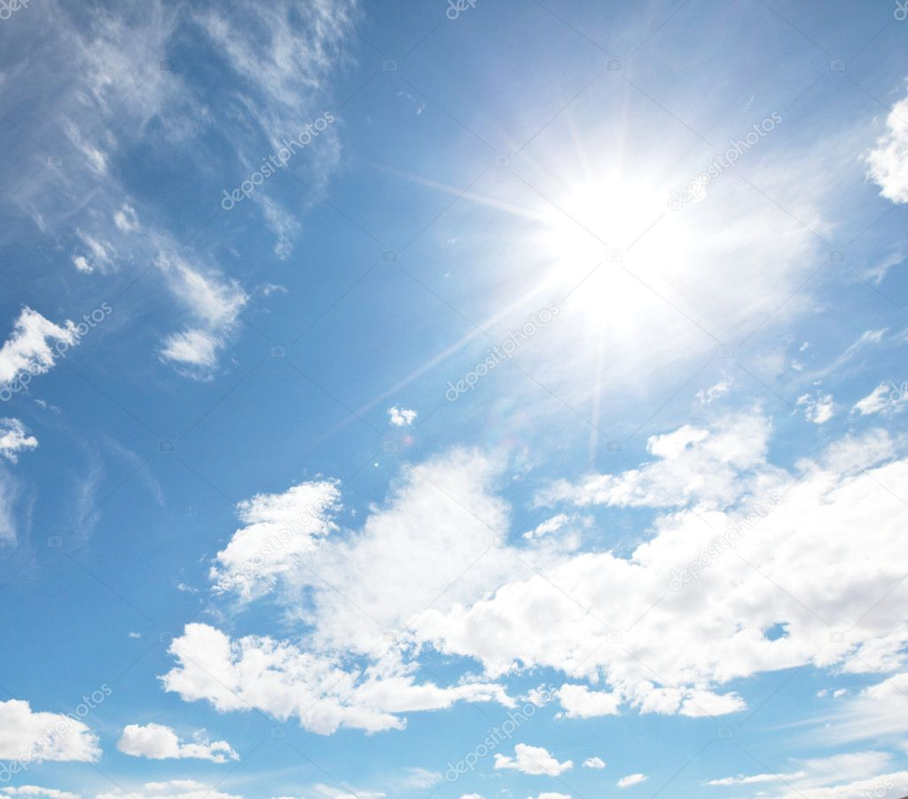 Sunny sky — Stock Photo #9075815