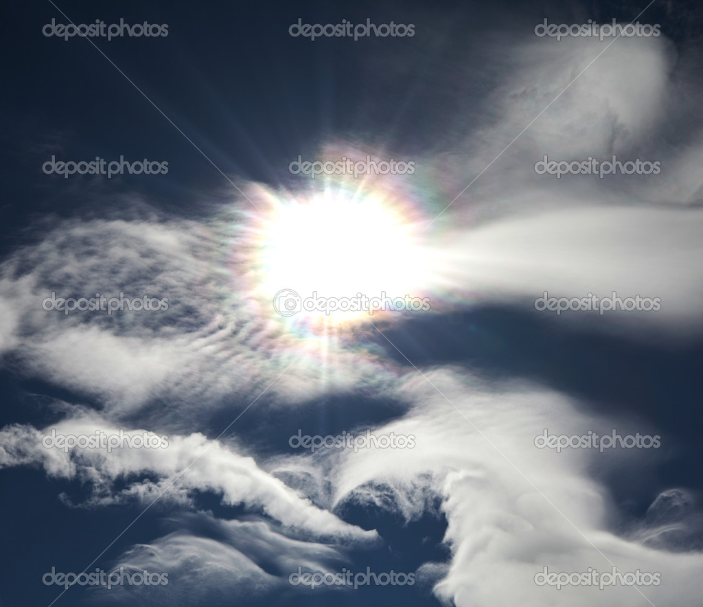 Sunny sky — Stock Photo #9300617