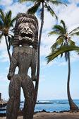 Hawaiian tiki — Stock Photo