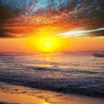 海上日落 — 图库照片 #9508566