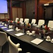 The hotel's conference room — Stock Photo