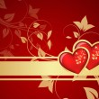 Valentine background — Stock Vector #8442932