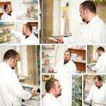 Pharmacist at pharmacy — Stock Photo