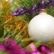 Sparkling tree ornament - Stock Photo