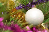 Sparkling tree ornament — Stock Photo