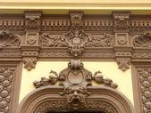 Informationen über die klassische architektur house dekoration — Stockfoto