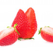 Stock Photo: Strawberry isolated on white background