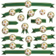 Royalty-Free Stock Vector Image: Football ribbons