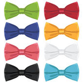 Bow ties — Stock Vector