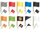Bandiere di formula uno — Vettoriale Stock