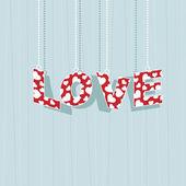 Valentine love — Stock Vector