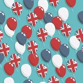 British balloons — Stock Vector