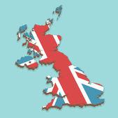 Großbritannien — Stockvektor