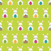 Easter pattern — Stock Vector