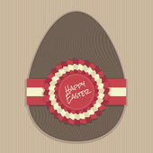Decoração de ovo de páscoa — Vetorial Stock
