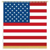 美国墙挂 — 图库矢量图片
