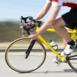 Cyclist at speed — Stock Photo #9801490