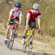 Racing Cyclists — Stock Photo